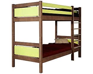 Кровать Грифон стайл Bramo двухъярусная 80х190, GSE - 7012