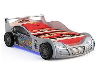 Кровать-машинка R800 Mini с подсветкой, GSR-8008 (metallik)