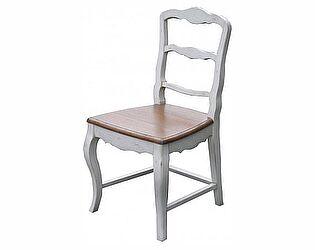 Стул с деревянным сиденьем Belveder Blanc bonbon, ST9308