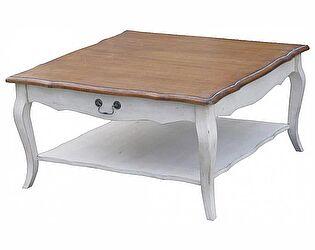 Столик низкий чайный (квадратный) Belveder Blanc bonbon, ST9317