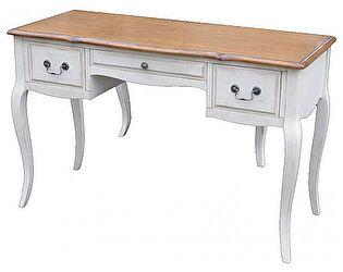 Стол письменный с 2 тумбочками и ящиком Belveder Blanc bonbon, ST9347