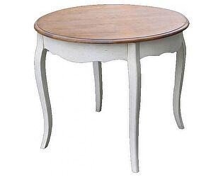 Стол обеденный круглый (большой) Belveder Blanc bonbon, ST9352