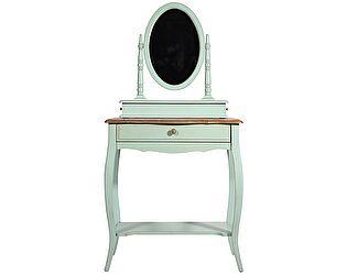 Стол туалетный  с овальным зеркалом Belveder ST9321
