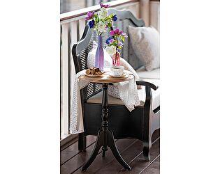 Столик кофейный круглый Belveder Saphir Noir, ST 9105N