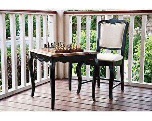 Купить стол Mobilier de Maison чайный квадратный Belveder Saphir Noir, ST 9116N
