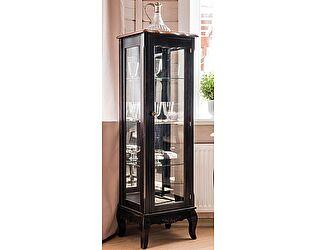 Витрина стеклянная низкая Belveder Saphir Noir, ST 9119N