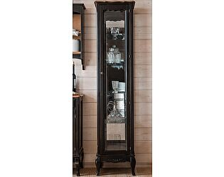 Витрина стеклянная высокая Belveder Saphir Noir, ST 9119RN