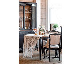 Стол обеденный круглый большой Belveder Saphir Noir, ST9152N