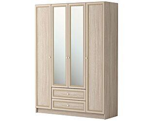 Шкаф комбинированный 4х дверный (с зеркалом) Ижмебель Брайтон, арт. 25