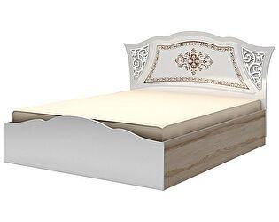 Кровать (180) Ижмебель Династия, мод. 8