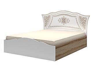 Кровать (160) Ижмебель Династия, мод. 18