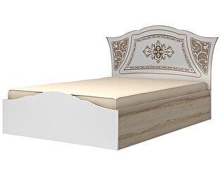 Кровать (140) Ижмебель Династия, мод. 19