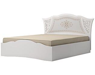 Кровать (160) с подъемным механизмом Ижмебель Династия, мод. 5ПМ