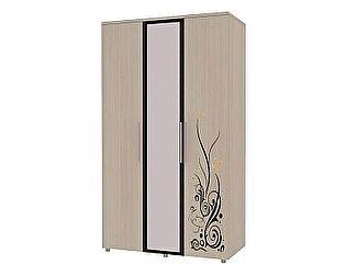 3-х дверный шкаф для одежды с зеркалом Марианна АРТ-6