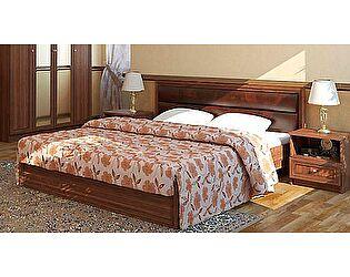 Кровать двойная с мягким элементом Ижмебель  Ребекка (160)