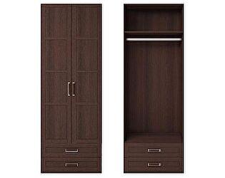 Шкаф 2х дверный для одежды с ящиками Ижмебель Скандинавия, арт. 1
