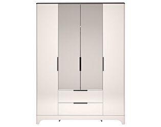 Шкаф Ижмебель Танго 4х дверный с ящиками с зеркалом, арт.27