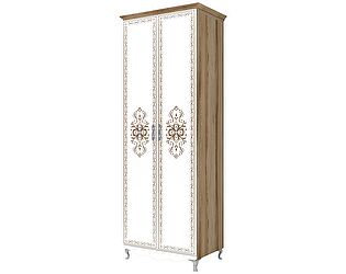 Шкаф 2х дверный для одежды Ижмебель Династия, арт. 16