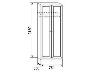 Шкаф для одежды Ребекка АРТ-4