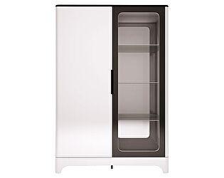 Шкаф Ижмебель Танго 16 комбинированный 2х дверный