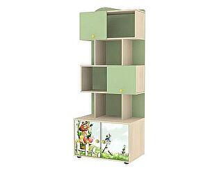 Шкаф-стеллаж для книг Ижмебель Браво, мод.7