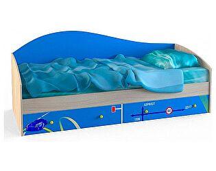 Кровать одинарная Ижмебель Браво (80), мод.6