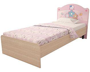 Кровать Ижмебель Браво Китти (90) с постером, мод.18