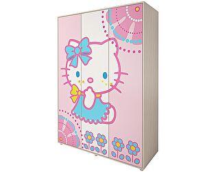 Шкаф для одежды 3х дверный Ижмебель Браво Китти, мод.01