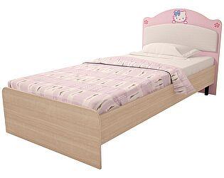 Кровать с мягким изголовьем Ижмебель Браво Китти (90), мод.16