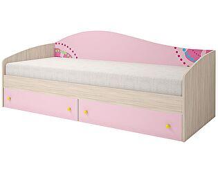 Кровать одинарная Ижмебель Браво Китти (80), мод.06