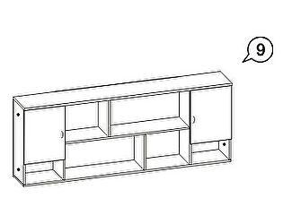 Шкаф навесной Джерри АРТ-9