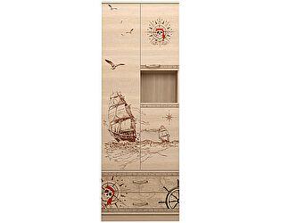 Купить шкаф Ижмебель Квест кобинированный 14