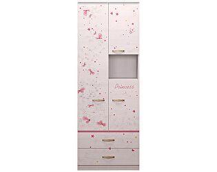Шкаф Ижмебель Принцесса комбинированный 14