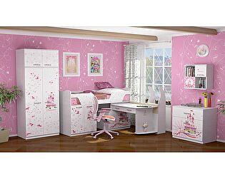 Набор для детской комнаты Ижмебель Принцесса 2