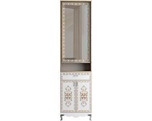 Шкаф комбинированный с зеркалом Ижмебель Династия, арт. 26