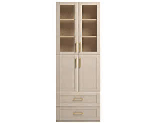 Шкаф Ижмебель Скандинавия Люкс комбинированный, мод.46