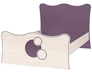 Кровать (120) с настилом Интеди Амелия, ИД 01.260