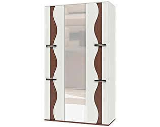 Шкаф 3х дверный для платья и белья Интеди Футура, ИД 01.63