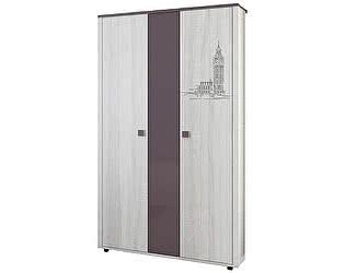 Шкаф 3х дверный для одежды Интеди Хэппи, ИД 01.359