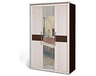 Шкаф 3-х дверный  для платья и белья Интеди Максима, ИД 01.123