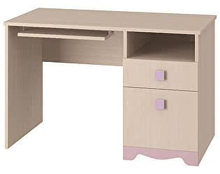 Стол письменный Интеди Pink, ИД.01.91a