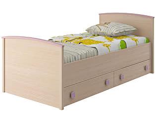 Кровать с настилом 80 Интеди Pink, ИД.01.94