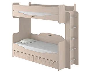 Кровать двухъярусная  Интеди Соната  (80) (ИД 01.164а)