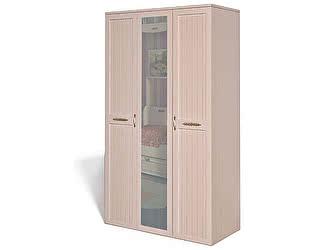 Купить шкаф Интеди Соната 3-х дверный для белья и платья, ИД 01.57