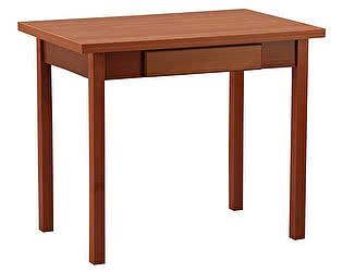 Купить стол Боровичи-мебель обеденный раскладной (прямая нога) с ящиком