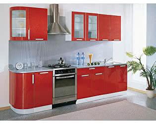 Кухонный гарнитур Трапеза 2335 мм с гнутыми фасадами