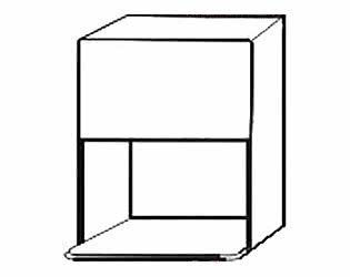 Купить шкаф Боровичи-мебель под микроволновую печь  АРТ: В-110