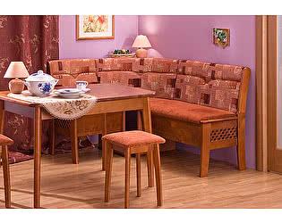 Купить кухонный уголок Боровичи-мебель Этюд 2-1 с решеткой и с ящиком
