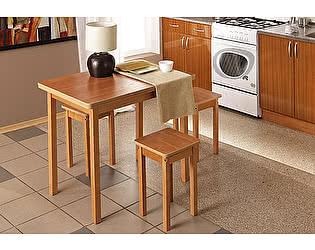 Стол обеденный Боровичи раздвижной с округлением 930х640