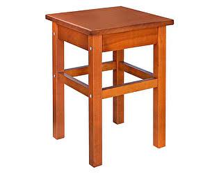 Купить табурет Боровичи-мебель массив, прямая нога